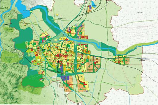 河北省石家庄市城市绿地系统规划-雄安规划 生态先行