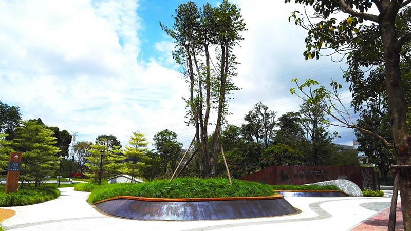 深圳北林苑设计的厦门市海沧区自贸区公园项目竣工/